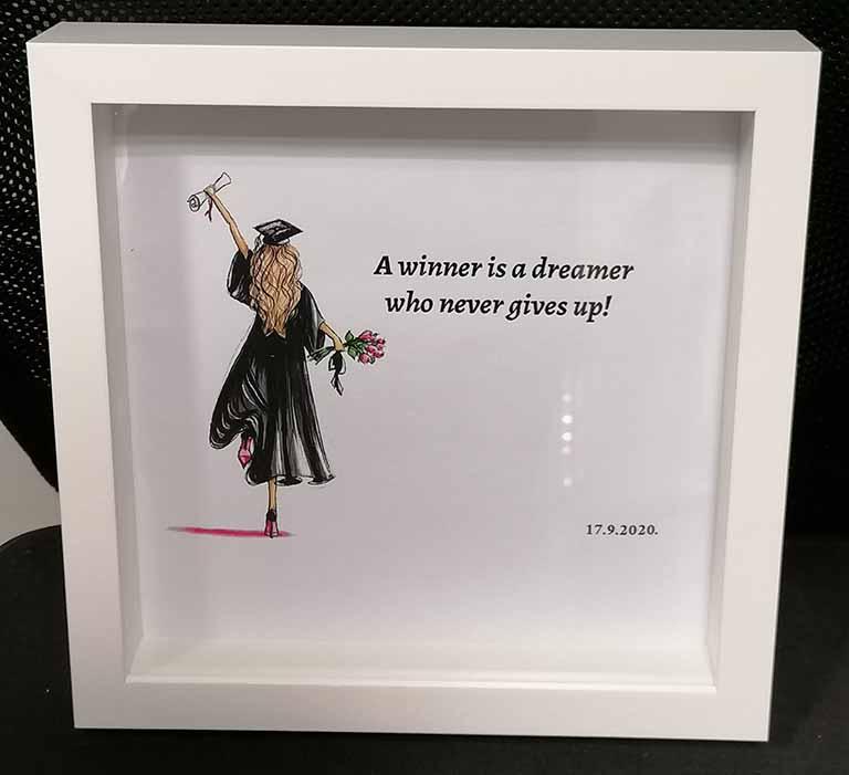 unikatni pokloni za diplomu by mia