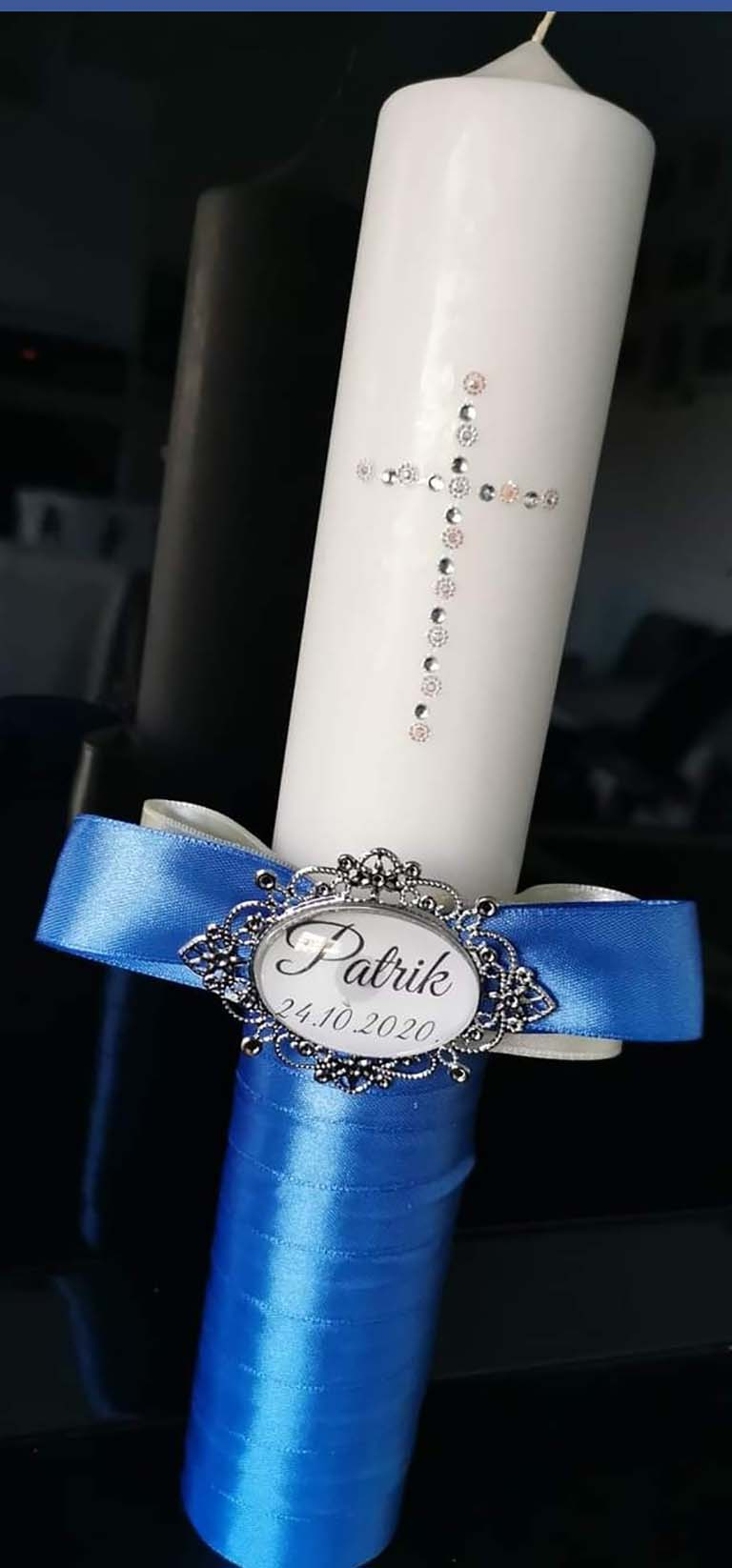 krsne svijeće i vezice za dudu by mia